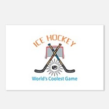 WORLDS COOLEST GAME Postcards (Package of 8)