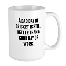 A Bad Day Of Cricket Mugs