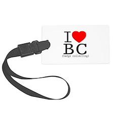 I Love | Heart BC - Badge Collec Luggage Tag
