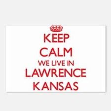 Keep calm we live in Lawr Postcards (Package of 8)