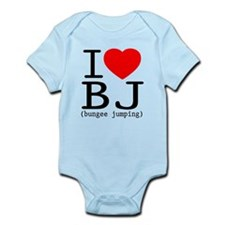 I Love Bungee Jumping Infant Bodysuit