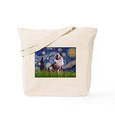 Starry Night & Australian Shepherd 1 Tote Bag