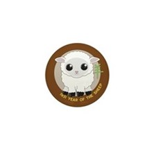 1931 Year of the Sheep Mini Button