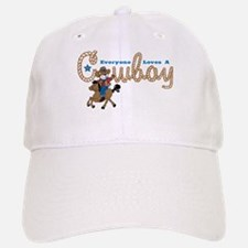 Loves A Cowboy KS Baseball Baseball Cap