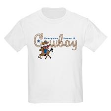 Loves A Cowboy KS T-Shirt