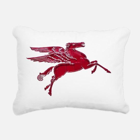 Pegasus Bright Rectangular Canvas Pillow