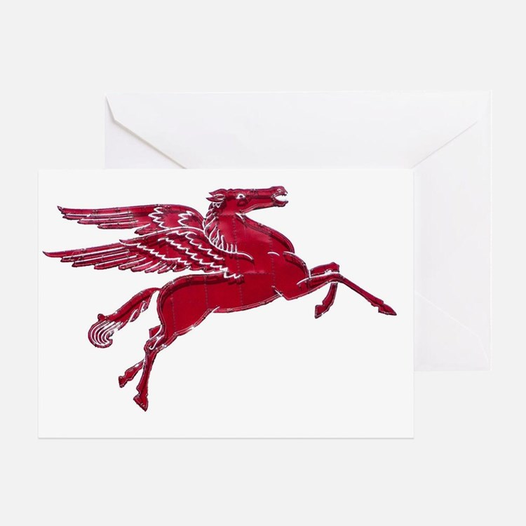 Pegasus Bright Greeting Card