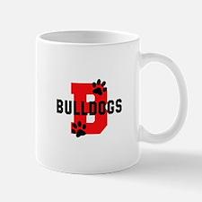 B BULLDOGS Mugs