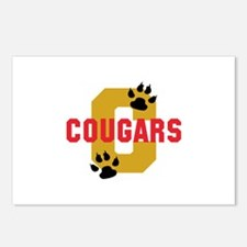 C COUGARS Postcards (Package of 8)