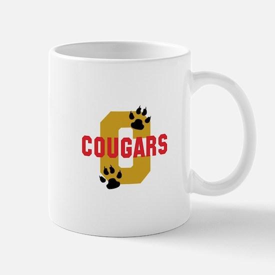 C COUGARS Mugs