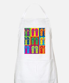 Pop Art Flip Flops Apron