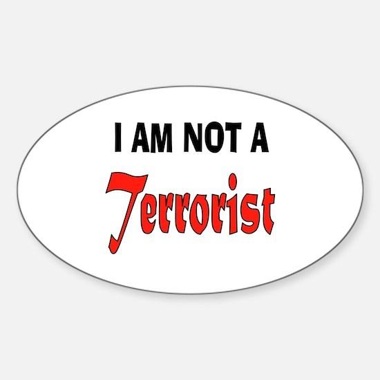 TERRORIST Decal