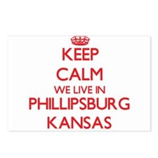 Keep calm we live in Phil Postcards (Package of 8)