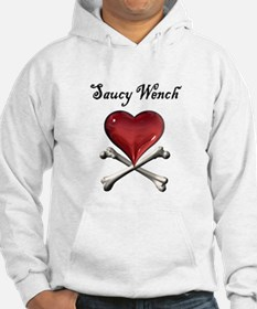 Saucy Wench Heart Hoodie