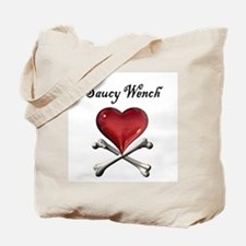 Saucy Wench Heart Tote Bag