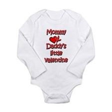 Cute Daddy's little Long Sleeve Infant Bodysuit