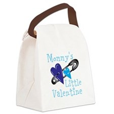 Mommy's Little Valentine Canvas Lunch Bag