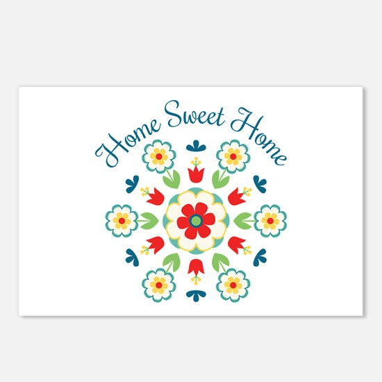 Home Sweet Home Postcards (Package of 8)