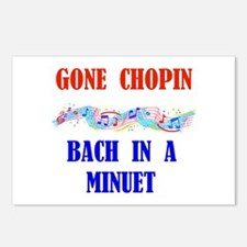 GONE CHOPIN Postcards (Package of 8)