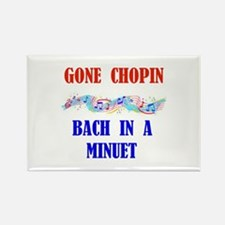 GONE CHOPIN Rectangle Magnet
