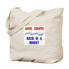 GONE CHOPIN Tote Bag