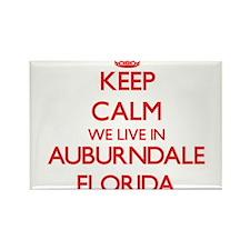 Keep calm we live in Auburndale Florida Magnets