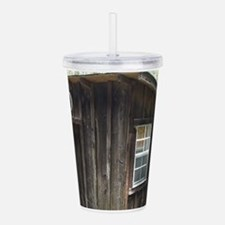 Outhouse Acrylic Double-wall Tumbler