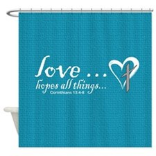 Cute The bible Shower Curtain
