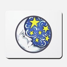 MOON AND STARS Mousepad
