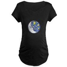 MOON AND STARS Maternity T-Shirt