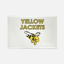 YELLOW JACKETS FULL CHEST Magnets