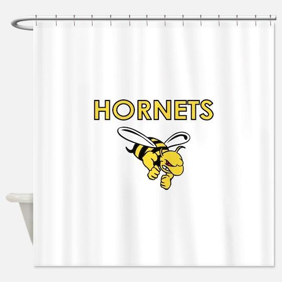 HORNETS FULL CHEST Shower Curtain