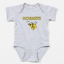 HORNETS FULL CHEST Baby Bodysuit