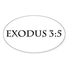 Exodus 3:5 Decal