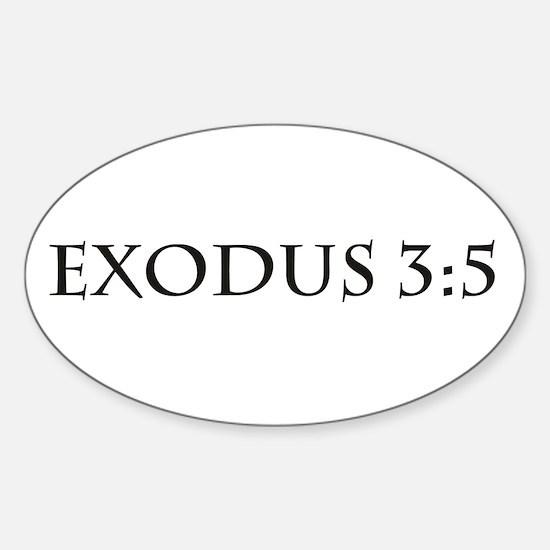 Exodus 3:5 Decal