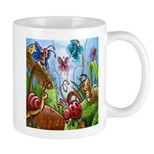Silly Bug Garden Mugs