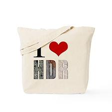 I Heart HDR Tote Bag