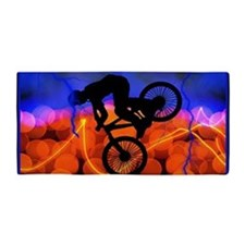 BMX Light Crystals and Lightning Towel Beach Towel