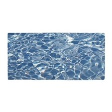 Sparkling Aqua Pool Water Beach Towel