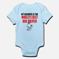 My Grandpa Is The Worlds Best Bus Driver Body Suit