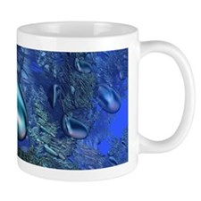Shiny blue pebbles Mugs