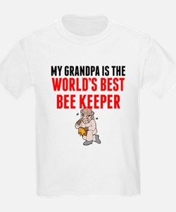 My Grandpa Is The Worlds Best Bee Keeper T-Shirt