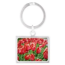 Red Tulips Keychains