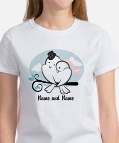 Lovebirds Women's T-Shirt