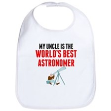 My Uncle Is The Worlds Best Astronomer Bib