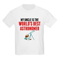 My Uncle Is The Worlds Best Astronomer T-Shirt