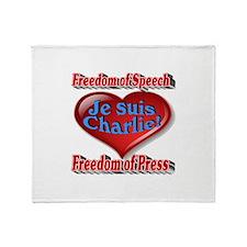 I am Charlie Throw Blanket