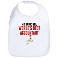 My Dad Is The Worlds Best Accountant Bib