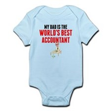 My Dad Is The Worlds Best Accountant Body Suit