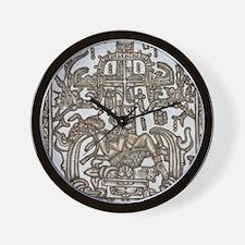 Mayan Ruler Pakal Kim Wall Clock